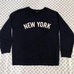 J Crew New York Sweatshirt